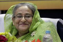 Bangladesh Prime Minister Sheikh Hasina meets Pranab Mukherjee, condoles demise of his wife