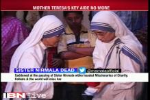 Mother Teresa's aide Sister Nirmala Joshi dies at 81