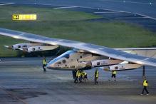 Solar-powered Plane Prepares to Leave California for Arizona