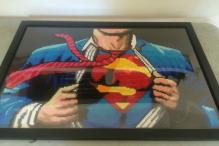 This man makes amazing comic book portraits with thousands of beads