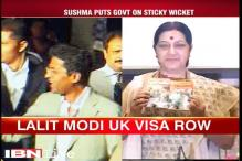 Sushma Swaraj under scanner for helping Lalit Modi over UK visa row