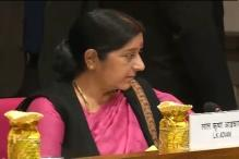 Sushma Swaraj holds talks with Turkmen counterpart on TAPI