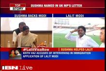 No issue with Lalit Modi's travel request, admits Sushma Swaraj, Congress demands her resignation