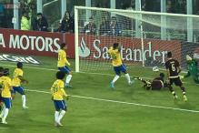 Neymar-less Brazil beat Venezuela 2-1 to reach Copa America quarters