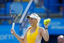 Caroline Wozniacki beats Svetlana Kuznetsova to reach Eastbourne quarters