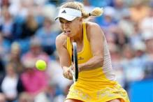 Wozniacki, Bouchard win on grass in Eastbourne 2nd round