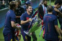 Xavi Hernandez ends Barcelona career in style with European triumph