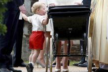 In Pics: Prince George's cute gimmicks at the christening of his sister Princess Charlotte