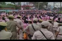 Manipur: Students clash with police over inner line permit in Imphal, 1 killed, curfew imposed