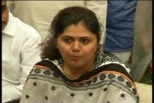 Maharashtra Women and Child Welfare Minister Pankaja Munde says she was the target of a political conspiracy
