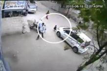 Caught on camera: 3-year-old miraculously survived car accident in Nashik