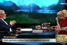 Turkey theologian talks oral sex, TV host has laughing fit
