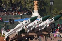Manohar Parrikar hands over indigenous Akash missile system to IAF at Gwalior Air Force base