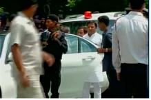 UP CM Akhilesh Yadav's security breached during a charity cricket match