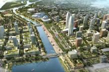 Andhra CM tweets artists' impression of new capital Amaravathi, master plan to be presented today