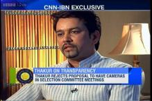 Ban on Sreesanth, Ankeet Chavan and Ajit Chandila to stay: Anurag Thakur
