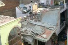4-storey building collapses in West Delhi, 5 dead