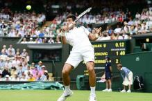 Novak Djokovic reaches 3rd round of Wimbledon after early scare