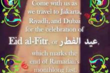 Eid Mubarak: How Snapchat users are celebrating the festival in Riyadh, Jakarta and Dubai