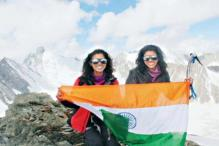 Haryana sisters become the first south Asians to win mountaineering grand slam