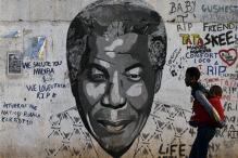 Giant tapestry unveiled to marked Mandela's death anniversary