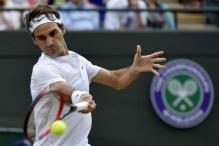 Breaking News: Roger Federer loses service game