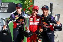 In pics: Sebastian Vettel wins Hungarian Grand Prix 2015
