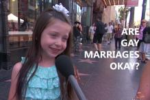 Some children were asked if they think 'Gay Marriage' is acceptable and they had some amazing answers!
