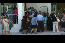 People bear the brunt of economic crisis in Greece as unemployent rates shoot up