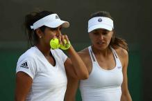 Sania Mirza-Martina Hingis reach Wimbledon women's doubles final