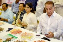 Photos: Salim Khan, Subhash Ghai attend Shaina NC's Iftar party