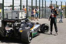 Force India retire both cars at Hungarian Grand Prix