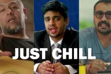 AIB, Anurag Kashyap, Russell Peters a boat-load of other celebrities want you to just CHILL