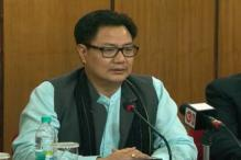 Congress trying to project Naga peace pact negatively: Kiren Rijiju