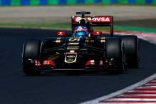 Formula One's Lotus blame bank transfer for tyre delay at Hungarian GP