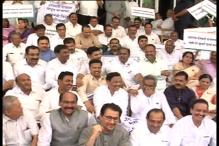 Watch: Maharashtra Congress MLAs sing 'Johnny Johnny yes papa' to take on Fadnavis government