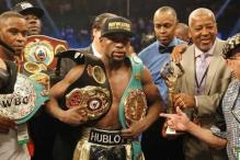 Floyd Mayweather stripped of title he won in Manny Pacquiao fight
