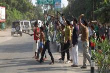 Communal tension in North East Delhi colony