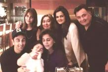 Photos: Neetu Kapoor celebrates 57th birthday with her family