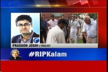 Abdul Kalam has left inspirational thoughts with us: Prasoon Joshi