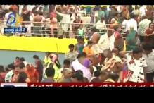29 dead, several injured in stampede at Godavari Pushkaram festival in Andhra Pradesh