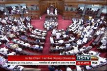 Opposition continues ruckus forcing two adjournments of Rajya Sabha