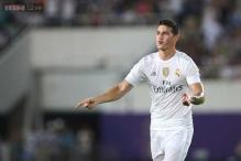 Rodriguez strike caps Real Madrid's 3-0 win over Inter Milan in friendly match