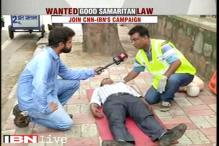 Watch: How to provide immediate relief to an accident victim