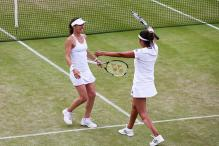 Sania Mirza-Martina Hingis enter women's doubles semis at Wimbledon