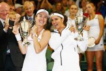 Wimbledon: Sania Mirza-Martina Hingis beat Ekaterina Makarova-Elena Vesnina to lift women's doubles title