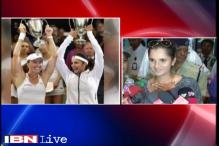 Very happy to win Wimbledon for the country, says Sania Mirza