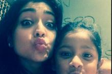 Snapshot: This is the cutest picture of Shriya Saran you will ever see