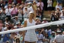Sharapova into last eight after downing battling Diyas