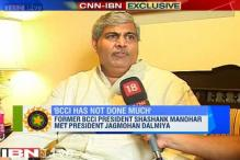 We need a central investigating agency to clean Indian cricket: Shashank Manohar